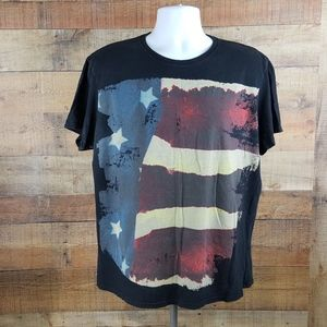 American Eagle Outfitters T-Shirt Men's Black Size